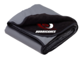 NP HURRICANES FLEECE/NYLON BLANKET