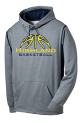 HUSKIE BASKETBALL PERFORMANCE  HOODIE