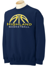HUSKIES BASKETBALL CREW SWEATSHIRT